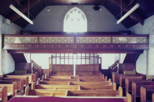 Trinity Methodist Chapel in March 1977