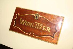 Wurlitzer Inlaid Console Nameplate